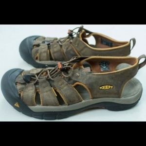 Keen Mens Sandles Waterproof Brown Size 10